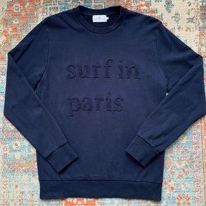 """Cuisse de Grenouille """"Surf in Paris"""" Sweatshirt"""